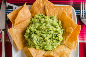 Home Made Guacamole - delivery menu
