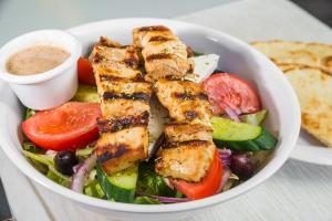 L1 - Salad with Chicken Souvlaki - delivery menu