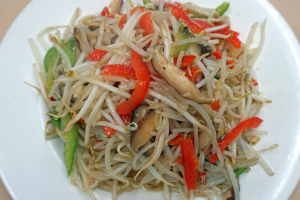 30. Sauteed Stir-Fried Three Kind of Vegetable - delivery menu