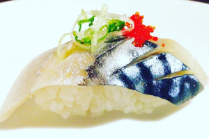 Mackerel (Saba) - delivery menu