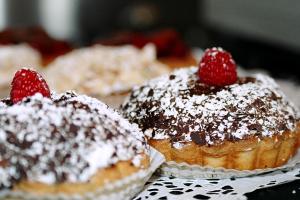 Black Forest Tart - delivery menu