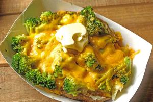 Broccoli Cheese Potato - delivery menu