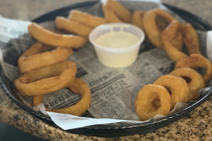 Thick Cut Whiskey Battered Onion Rings - delivery menu
