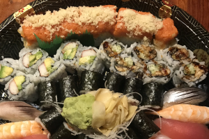 A. Sushi & Roll Platter - delivery menu