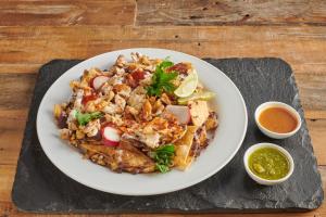 Pollo Asado Nacho - delivery menu