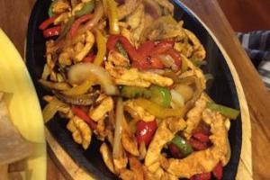 Chicken Fajitas - delivery menu