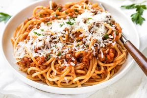 Spaghetti Bolognese - delivery menu