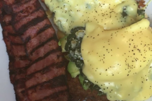 Clark's Poached Eggs with Avocado - delivery menu