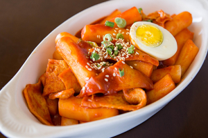 Egg Spicy Rice Cake Dukbokki 계란떡볶이 - delivery menu