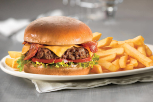 L25. Bacon Cheeseburger Deluxe Lunch - delivery menu