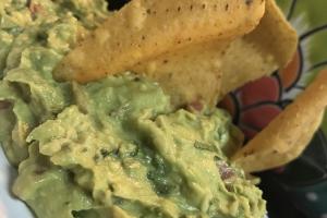 Guacamole  W/ Chips - delivery menu