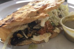 Mexican Quesadilla - delivery menu