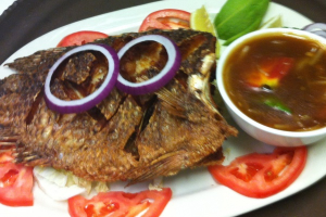 Ginger Tilapia - delivery menu