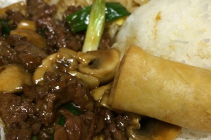 Combo A: Mongolian Beef Lunch Special - delivery menu