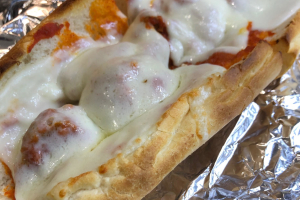 Meatball Parmigiana Hero - delivery menu