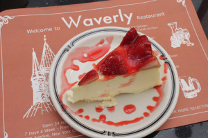 Cheesecake with Strawberries - delivery menu