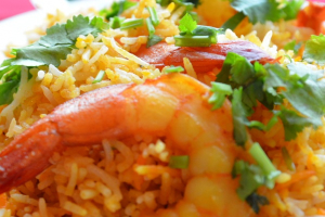 56. Shrimp Biryani - delivery menu