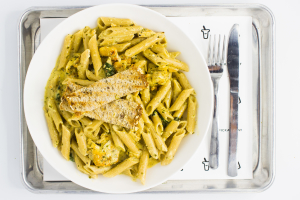 P1. Verde Chicken Alfredo - delivery menu