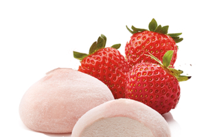 Strawberry Mochi ice cream - delivery menu