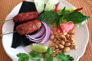 Northeastern Thai sausages - delivery menu