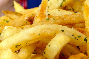 Garlic Fries - delivery menu
