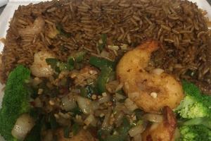 D20. Salt and Pepper Shrimp Combo - delivery menu