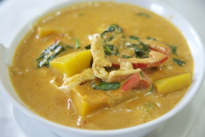 67. Pumpkin Curry - delivery menu