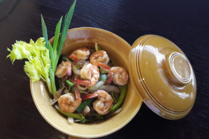 Shrimp in Hot Clay Pot - delivery menu