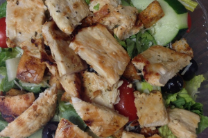 8. Grilled Salmon Salad - delivery menu