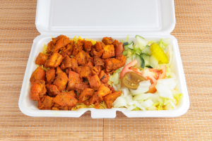 Chicken Over Rice Platter - delivery menu