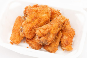 108. (6) Pieces Fried Chicken Wings - delivery menu