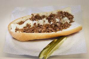 12. Cheese Steak - delivery menu
