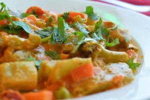 23. Vegetable Korma - delivery menu