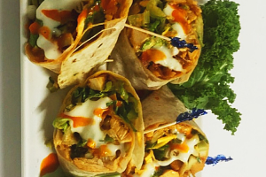 Buffalo Chicken Wrap Dinner - delivery menu