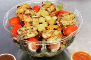 Jerkin Shrimp Salad - delivery menu