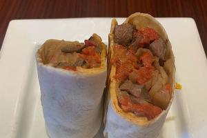 Steak Wrap - delivery menu