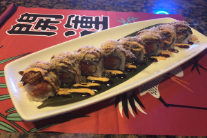 Dancing Eel roll - delivery menu