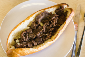Cheese Steak Hoagie - delivery menu