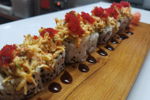 Red Alert Roll - delivery menu