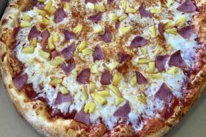 """16"""" Hawaiian Pizza - delivery menu"""
