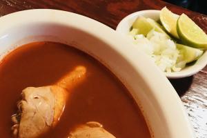 Sopa de Chilate de Pollo - delivery menu