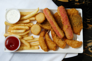 13. Fried Seafood Combo - delivery menu
