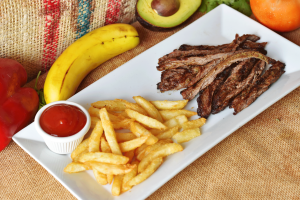 Kid's Bistec de Carne - delivery menu