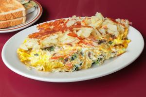 Veggie Omelette - delivery menu