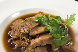Kao Kha Moo - delivery menu