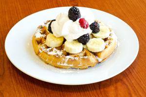 Waffle Breakfast Platter - delivery menu