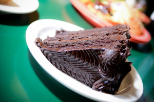 Triple Layer Chocolate Cake - delivery menu