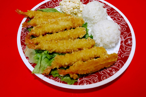 41. Tempura Shrimp  Plate - delivery menu