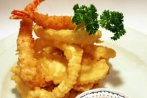 Shrimp and Vegetable Tempura - delivery menu