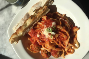 Spicy Meatball Fettuccine - delivery menu